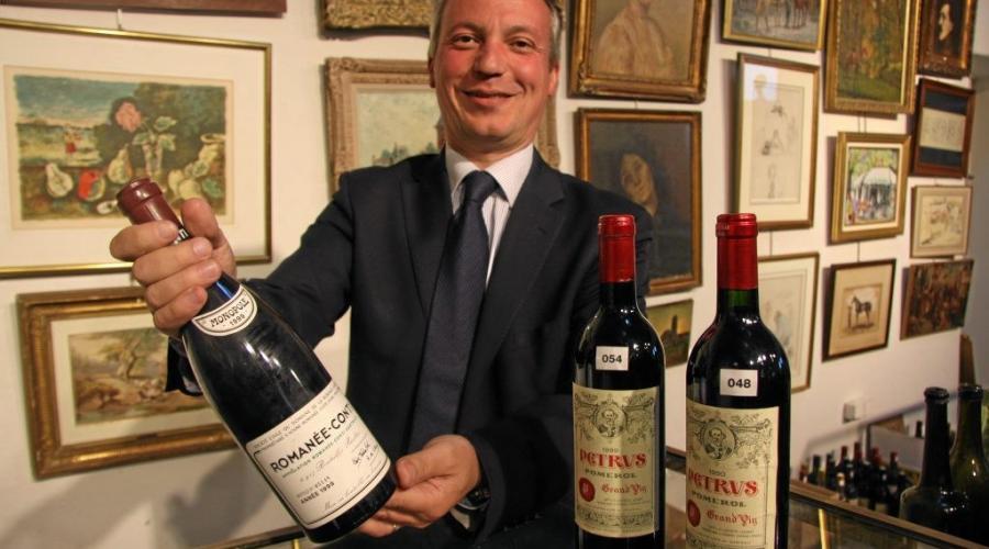 Actualite Actualite « Une exceptionnelle caisse de vins à 60 000 € »